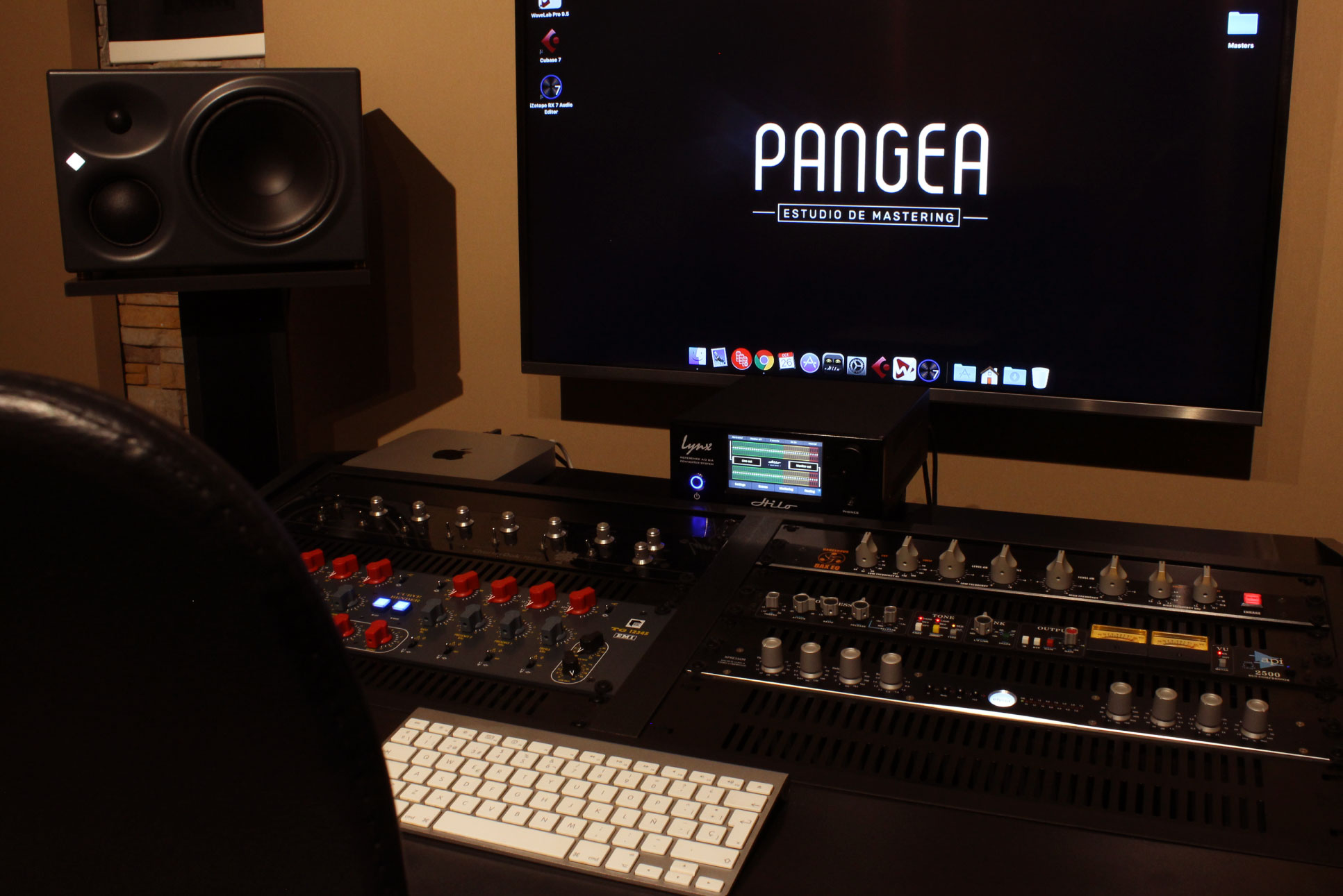 Pangea - Estudio de Mastering